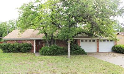 Stephenville Single Family Home Active Contingent: 1205 N Dale Avenue