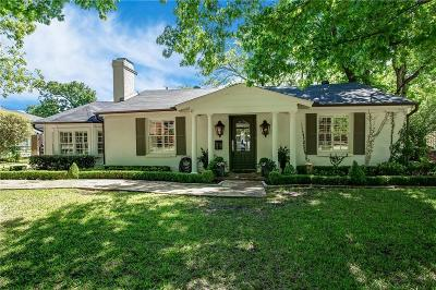 Fort Worth Single Family Home For Sale: 312 Eastwood Avenue