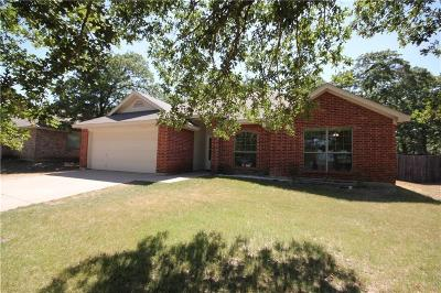 Azle Single Family Home Active Option Contract: 762 Oak Park Drive