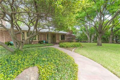 Preston Hollow Single Family Home For Sale: 6831 Glendora Avenue