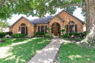 Coppell Single Family Home Active Option Contract: 120 Woodcrest Lane