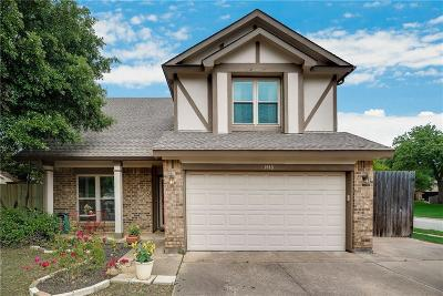 Grapevine Single Family Home Active Option Contract: 1440 Ryan Court