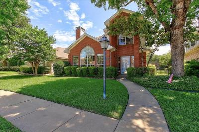 Coppell Single Family Home Active Option Contract: 517 Raintree Circle