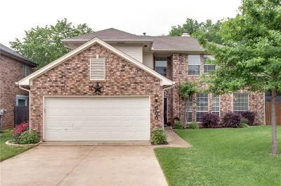Grapevine Single Family Home Active Option Contract: 600 Shady Creek Drive