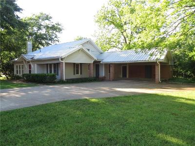 Freestone County Single Family Home Active Option Contract: 108 W Gregg Street