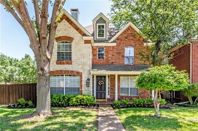 Coppell Single Family Home Active Option Contract: 927 Beau Drive