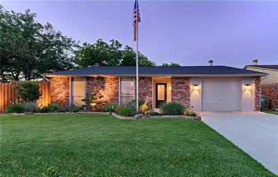 The Colony Single Family Home Active Option Contract: 5201 Nash Drive