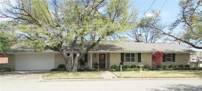 Stephenville Single Family Home Active Option Contract: 509 N Columbia Street