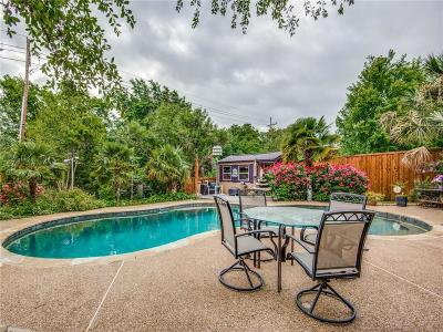 Lewisville Single Family Home Active Option Contract: 1605 Live Oak Drive