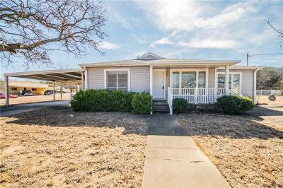 Mineral Wells Single Family Home For Sale: 805 1st Street