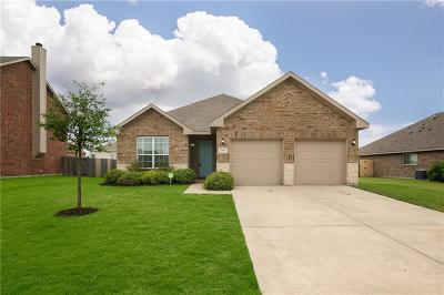 Waxahachie Single Family Home Active Option Contract: 202 Colt Drive