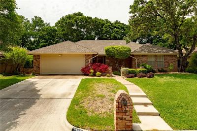 Mansfield Single Family Home Active Option Contract: 1229 Brookfield Lane
