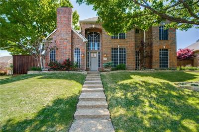 Plano Single Family Home Active Contingent: 2708 Sunset Circle