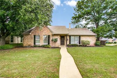 Flower Mound Single Family Home Active Option Contract: 2800 Dickens Lane