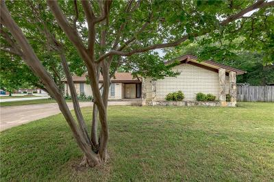 Hurst Single Family Home Active Option Contract: 501 Cactus Drive