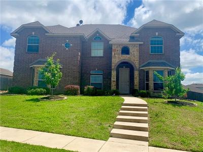 Glenn Heights Single Family Home For Sale: 504 Golden Bell Drive