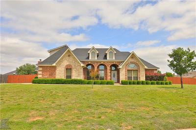 Abilene Single Family Home For Sale: 1304 S Saddle Lakes Drive