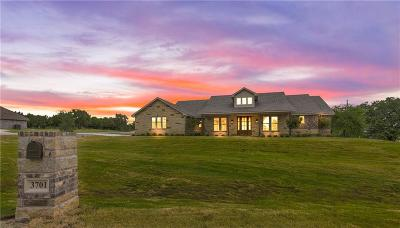 Granbury Single Family Home For Sale: 3701 Lonesome Creek Trail