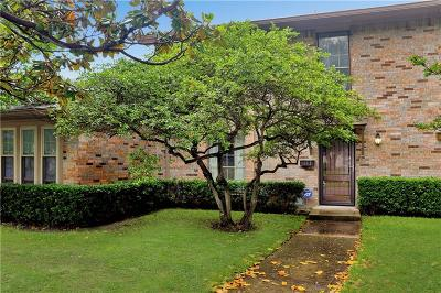 Dallas Townhouse For Sale: 10617 Stone Canyon Road #28