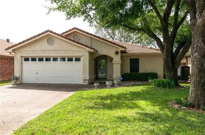 North Richland Hills Single Family Home Active Option Contract: 8408 Crystal Lane