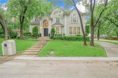 McKinney Single Family Home For Sale: 2800 Woodstream Lane