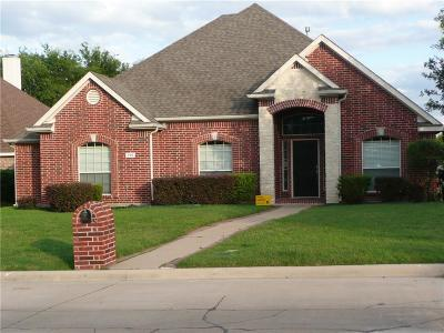 Mansfield TX Single Family Home For Sale: $256,000