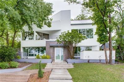 Dallas TX Single Family Home For Sale: $1,498,000