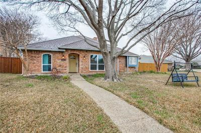 Richardson Single Family Home Active Option Contract: 413 Creekside Drive
