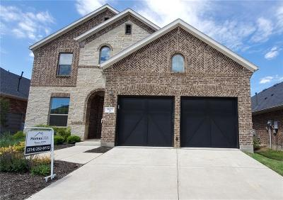 Little Elm Single Family Home For Sale: 821 Field Crossing