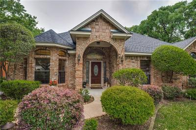 North Richland Hills Single Family Home Active Contingent: 6736 Parkwood Drive