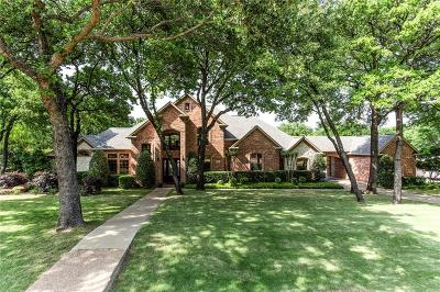Flower Mound Single Family Home Active Kick Out: 5404 Clear Creek Drive