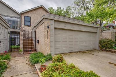Arlington Heights Townhouse For Sale: 4723 Collinwood Avenue