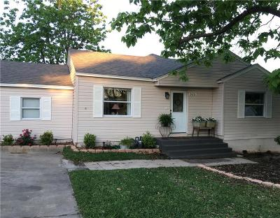 Crandall Single Family Home For Sale: 505 College Street