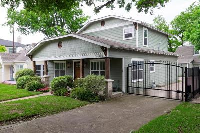 Single Family Home For Sale: 5205 Willis Avenue