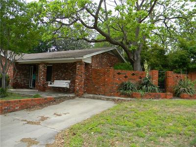 Hurst Single Family Home Active Option Contract: 401 Anderson Drive