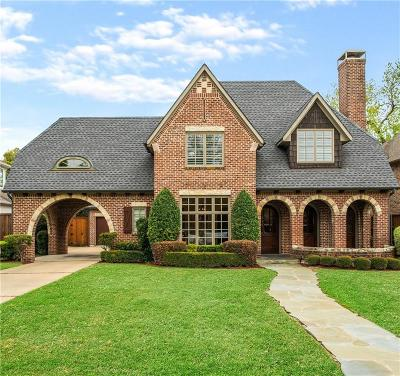 Dallas County Single Family Home For Sale: 6538 Chevy Chase Avenue