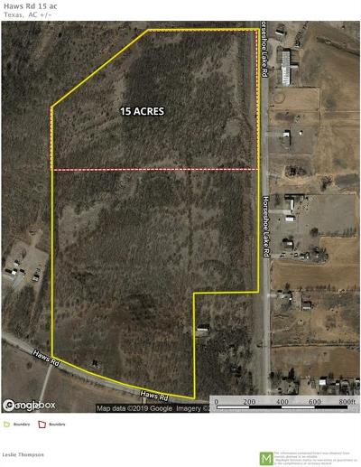 Wichita County Residential Lots & Land For Sale: 2855 Haws Rd