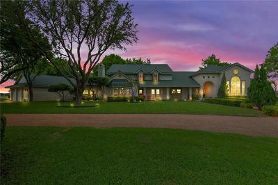 Aledo Single Family Home Active Option Contract: 402 S Point Court
