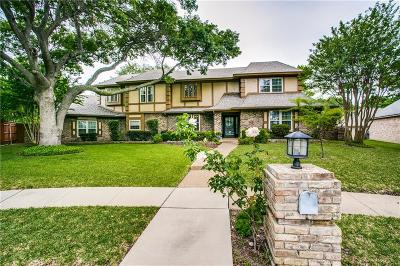 Plano Single Family Home Active Option Contract: 3717 Whispering Circle