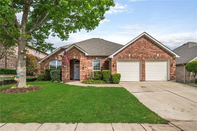 Sachse Single Family Home Active Option Contract: 7407 Summit Meadow Lane