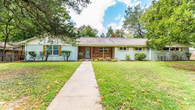 Tyler Single Family Home For Sale: 3601 Bain Place