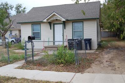 Fort Worth Single Family Home For Sale: 3109 N Elm Street