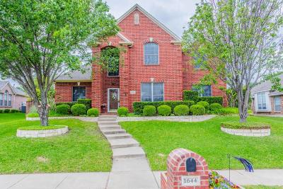 Keller Single Family Home For Sale: 1644 Overcup Lane