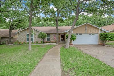 Bedford Single Family Home Active Option Contract: 3020 Pecan Circle