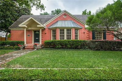 University Park Single Family Home For Sale: 3301 Westminster Avenue