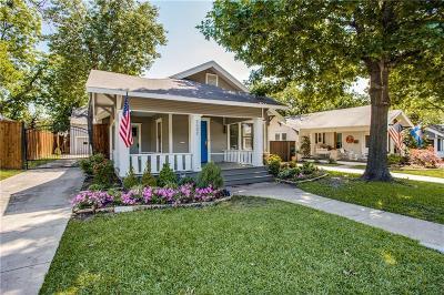 Dallas, Addison Single Family Home For Sale: 5532 Willis Avenue