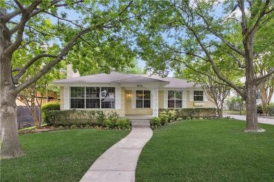 Dallas Single Family Home For Sale: 6716 Blue Valley Lane