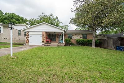 Lake Highlands Single Family Home Active Option Contract: 8735 Westfield Drive
