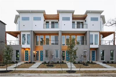 Fort Worth Townhouse For Sale: 267 Currie Street