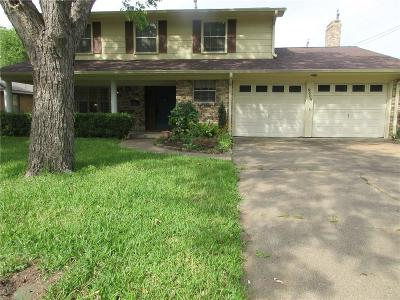 Irving Single Family Home For Sale: 2505 Crestview Circle